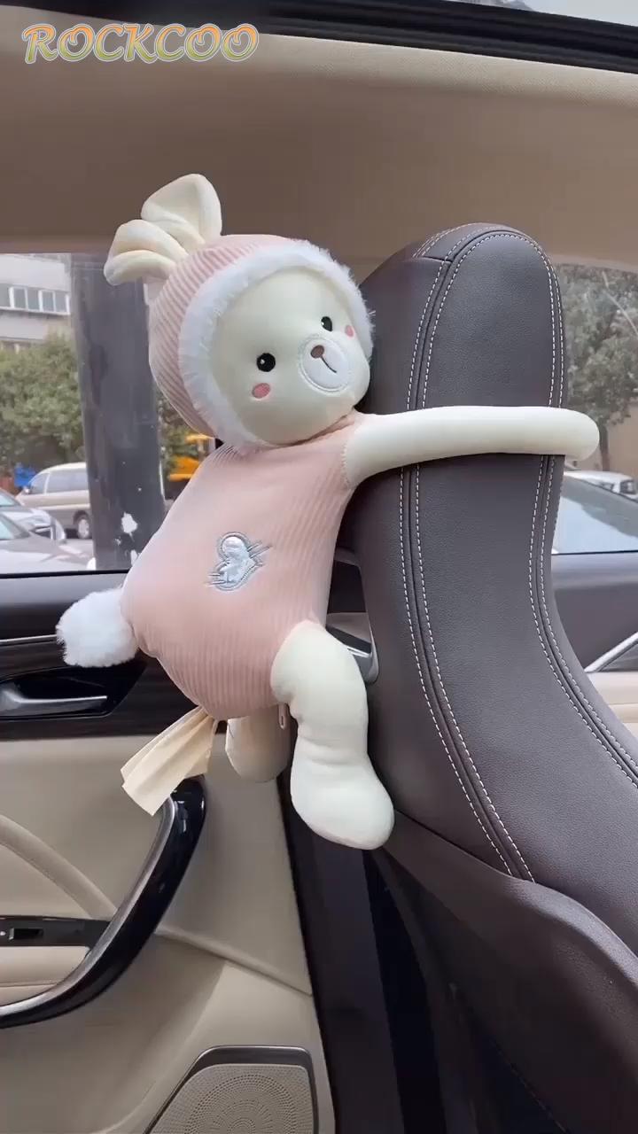 Photo of Creative Pippi Monkey Cartoon Animals Car Paper Boxes Napkin Holder