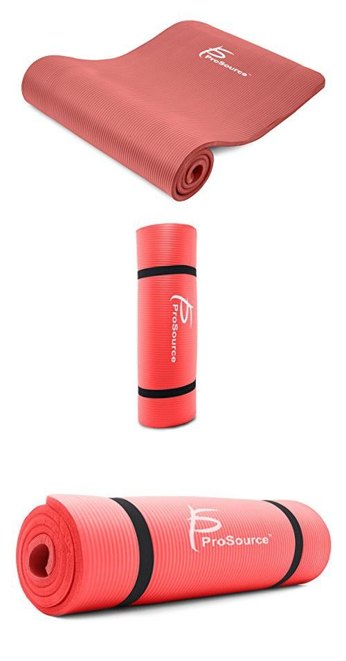 Balancefrom Goyoga All Purpose 1 2 Inch Extra Thick High Density Anti Tear Exercise Yoga Mat With Carrying Strap In 2020 Mat Exercises Yoga Fitness Best Yoga