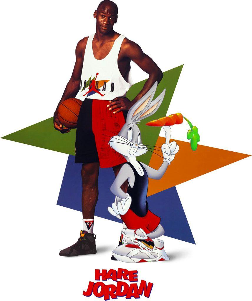 098217e6275282 Michael Jordan  Hare Jordan  Nike Air Jordan Poster (1992)
