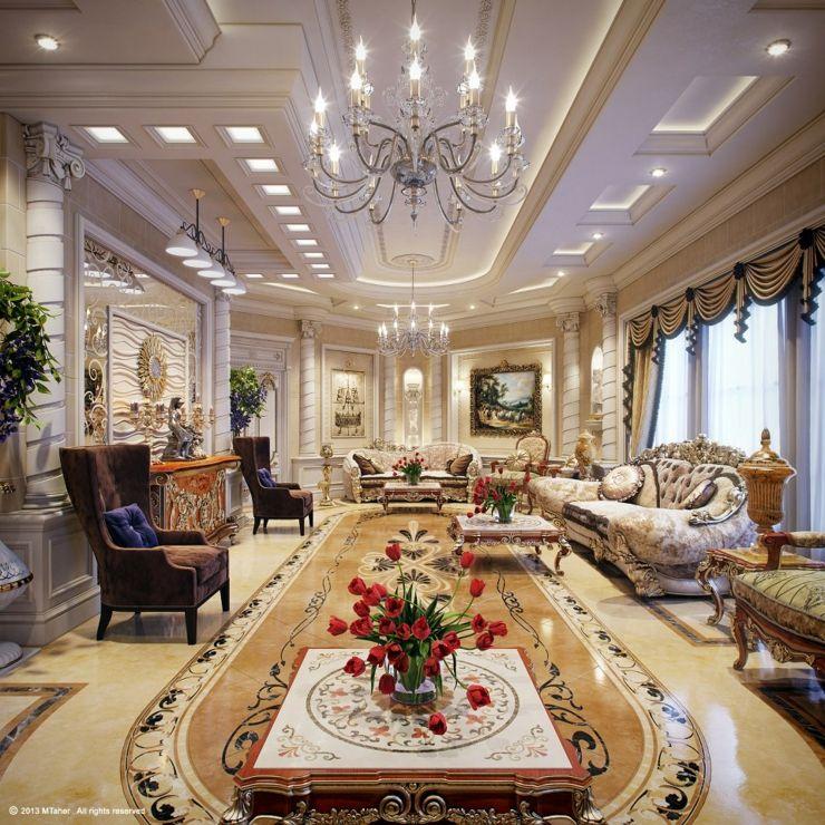 Villa de luxe au design d\'intérieur oriental au Qatar | Classic ...