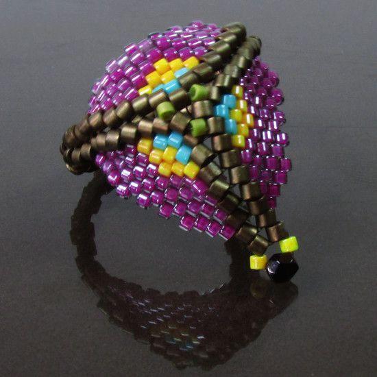 Anel Borôro anel tecido á mão design exclusivo nadjasimis