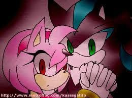 Image result for amy rose and mephiles