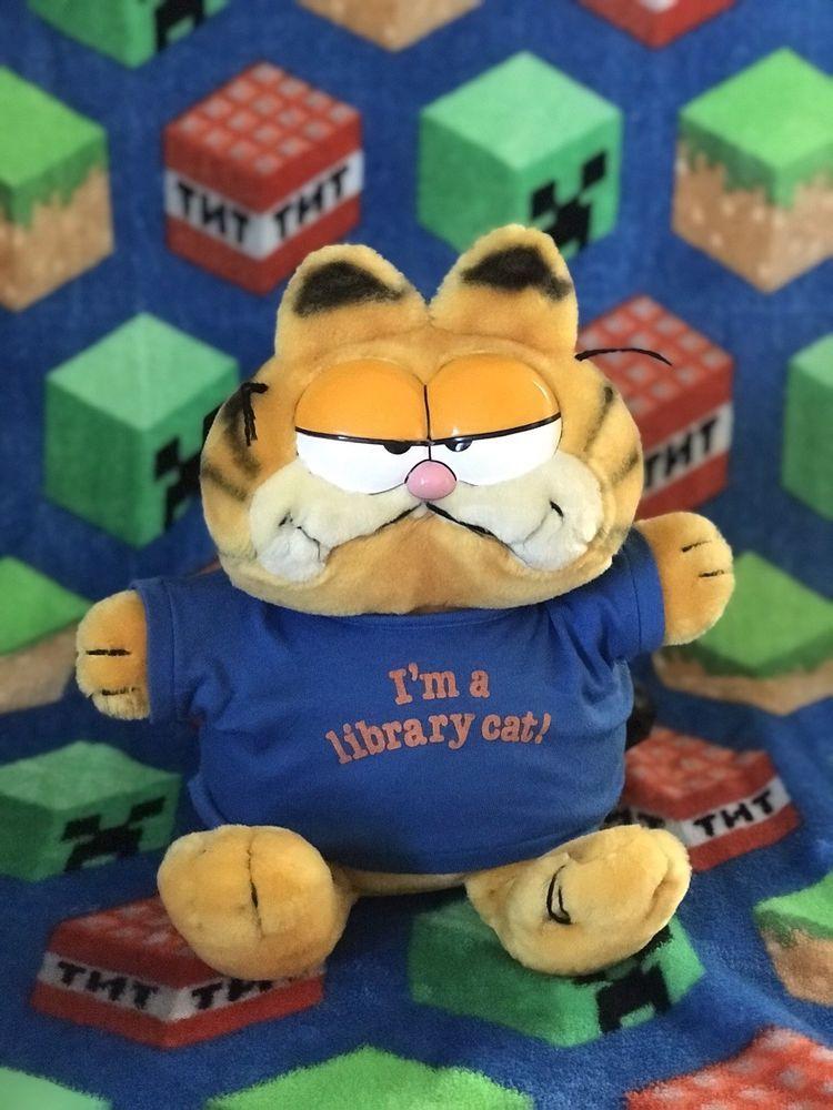 Garfield Plush 1978 1981 Vintage Fun Farm Stuffed Animal Cat Toy Collectible Stuffed Animal Cat Cat Toys Toy Collection