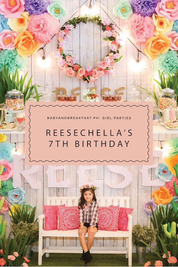 Reesechella's 7th Birthday Bash! | Bohemian | Coachella ...
