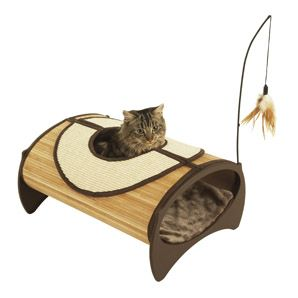 Image forBamboo Cat Pod (Online Only)