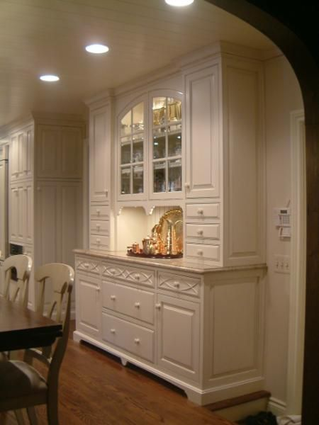 Built In Hutch Dining Room