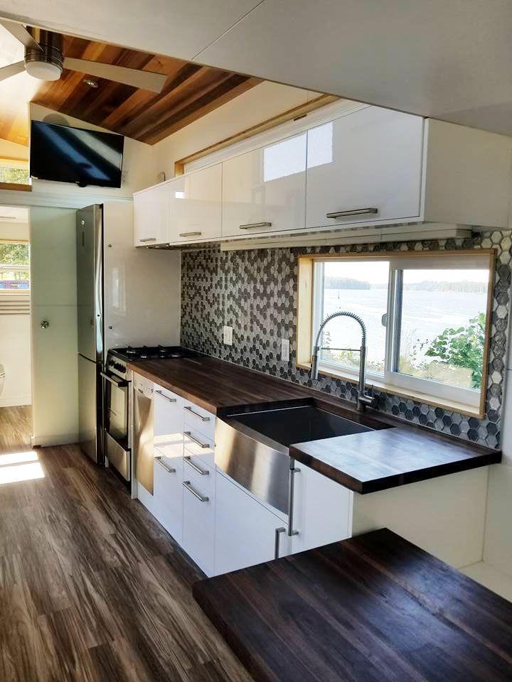 Catalina By Tiny Innovations Tiny House Kitchen Outdoor Kitchen Design Luxury Kitchens