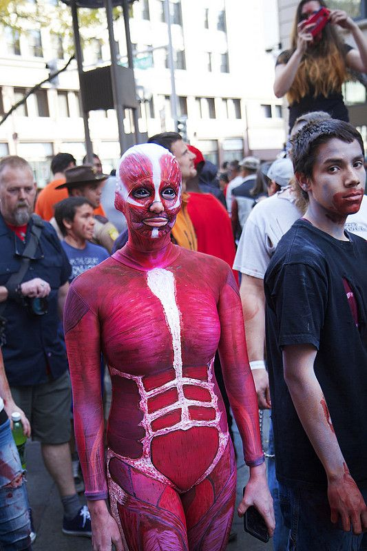 Photos from 9th Annual Denver Zombie Crawl 2014 - Zombie crawl, Halloween costumes, Celebrities