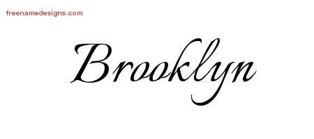 a1fa88d9a Calligraphic Name Tattoo Designs Brooklyn Download Free   Tattoo ...