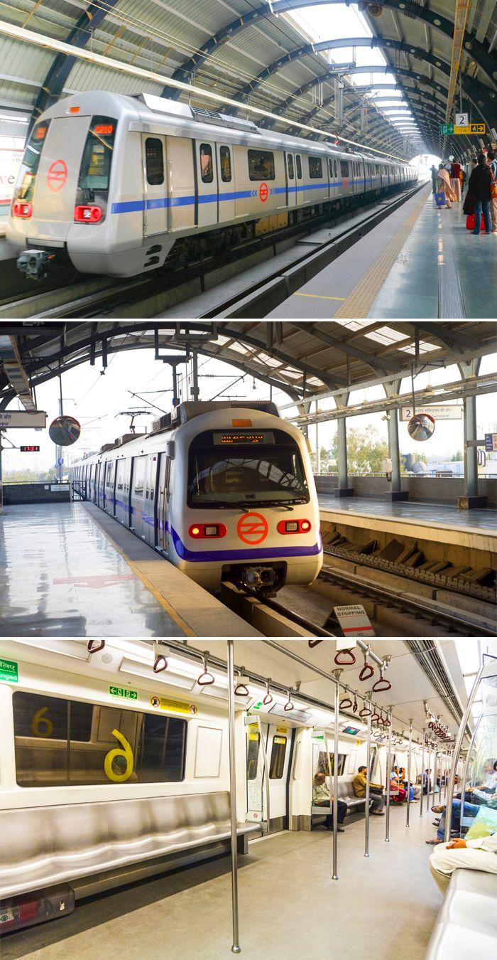 Metrotrain Delhi Metro Delhi Metro Is A Metro System Serving In The National Capital Region Of India Delhi Metro Is India S First Modern Public Tr Hindistan