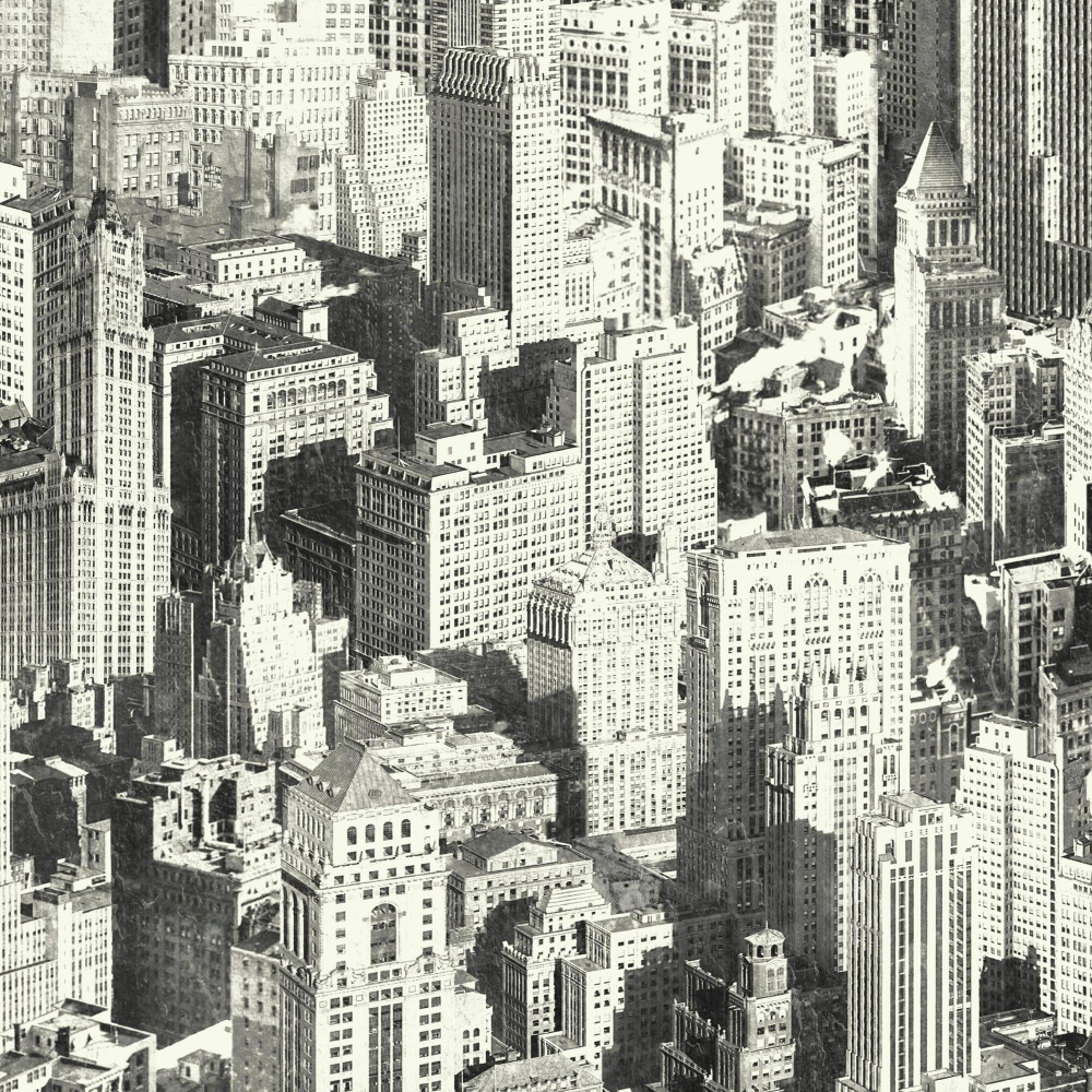 Black And White New York Cityscape Peel And Stick Wallpaper World Market In 2020 New York Cityscape City Wallpaper Removable Wallpaper