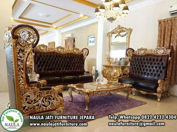 Sofa Tamu Mewah Liberty Royal Jumbo Terbaru 2018 Kursi