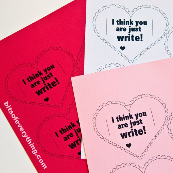 We have a cute and simple printable valentine for your kids. Print ...