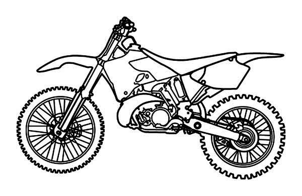 Picture Of Dirt Bike Coloring Page Picture Of Dirt Bike Coloring Page Coloring Pages For Kids Coloring Pages Bike Drawing