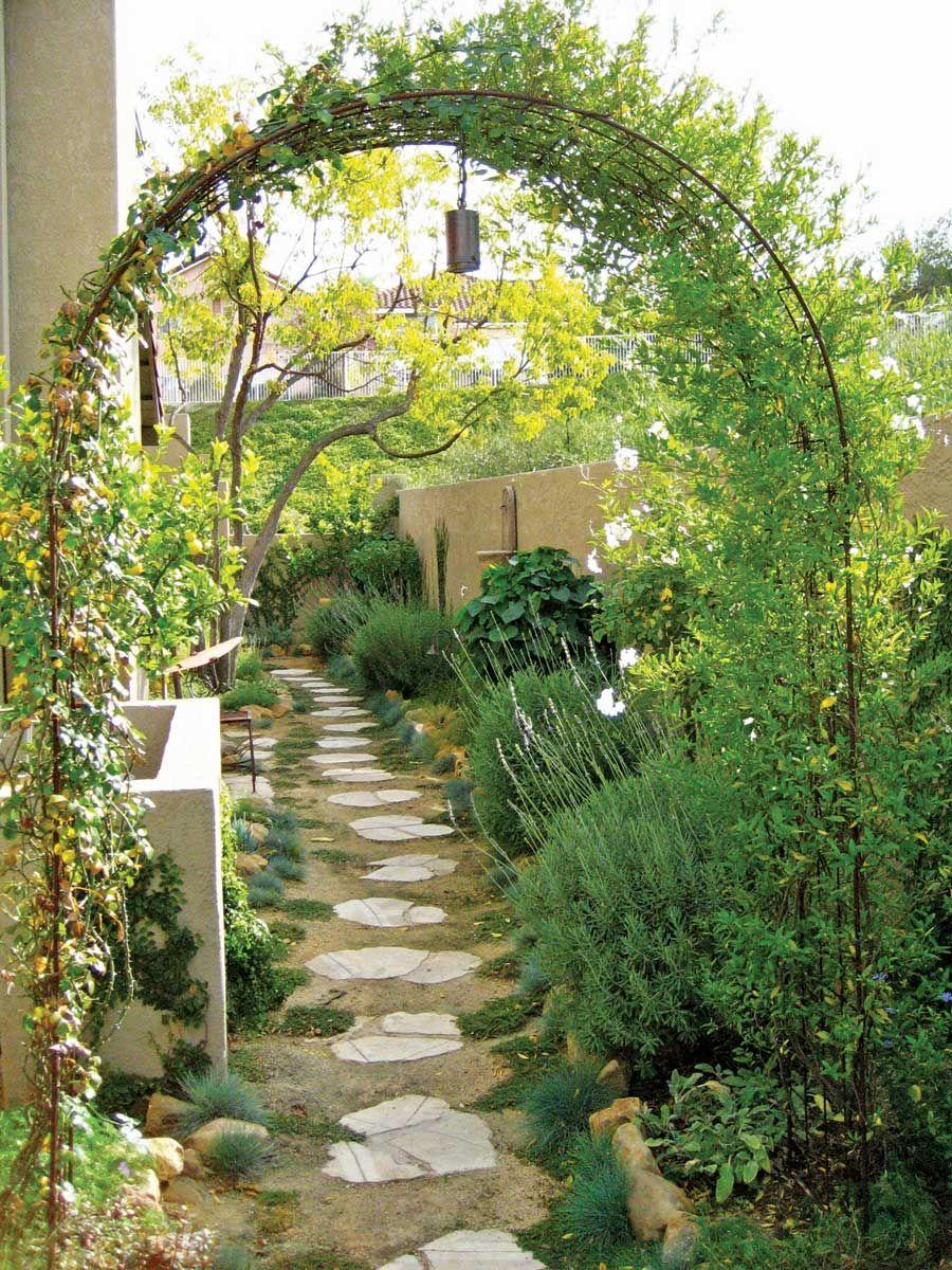 Small Garden Design Tips From Landscape Designer Shirly Bovshow Mediterranean Landscaping Narrow Garden Landscape Design
