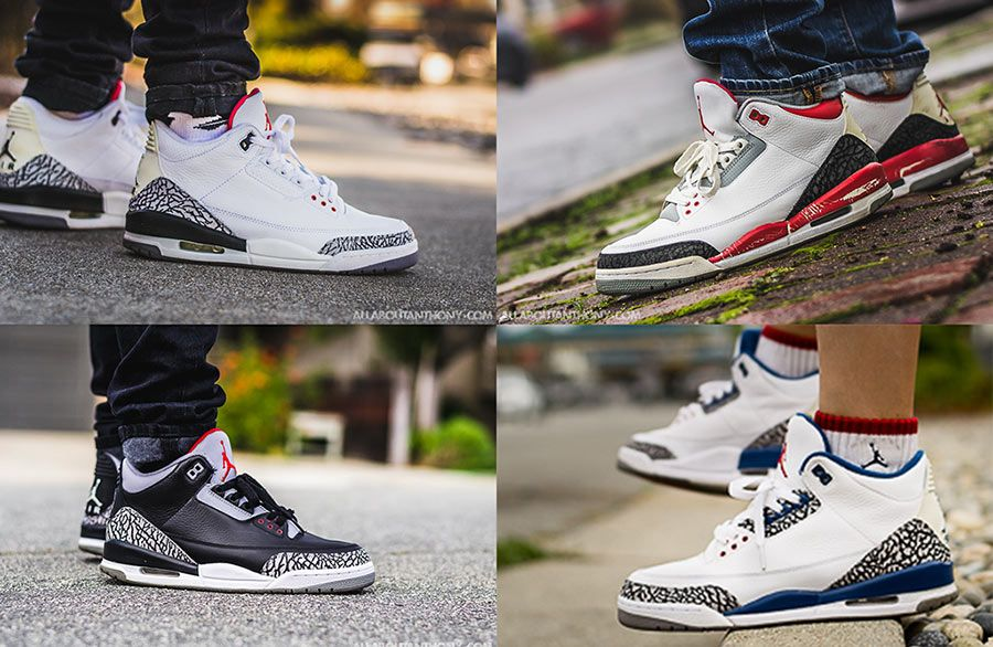 sports shoes 9248a f34f3 4 Must Have Air Jordan 3 Colorways