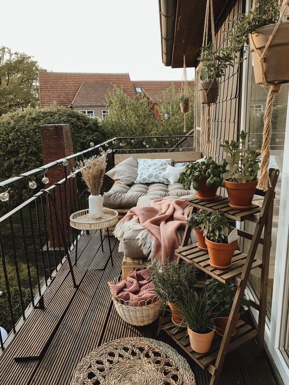 Projekt Balkonien . #balkonien #hyggestyle #hygge ...