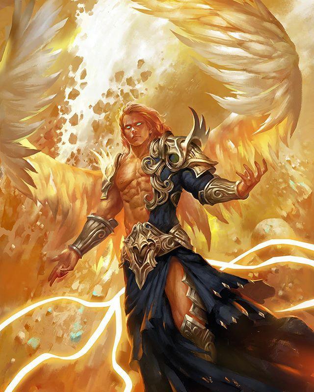 Icarus Awesome Angelart By April Dede Artstation Com Aprildede