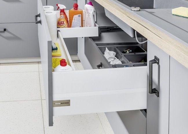 Szuflada Zlewozmywakowa Funkcjonalna Kuchnia Projektowanie Kuchni Kuchnia Design Projekty Kitchen Cabinet Styles Small Space Kitchen Kitchen Inspirations