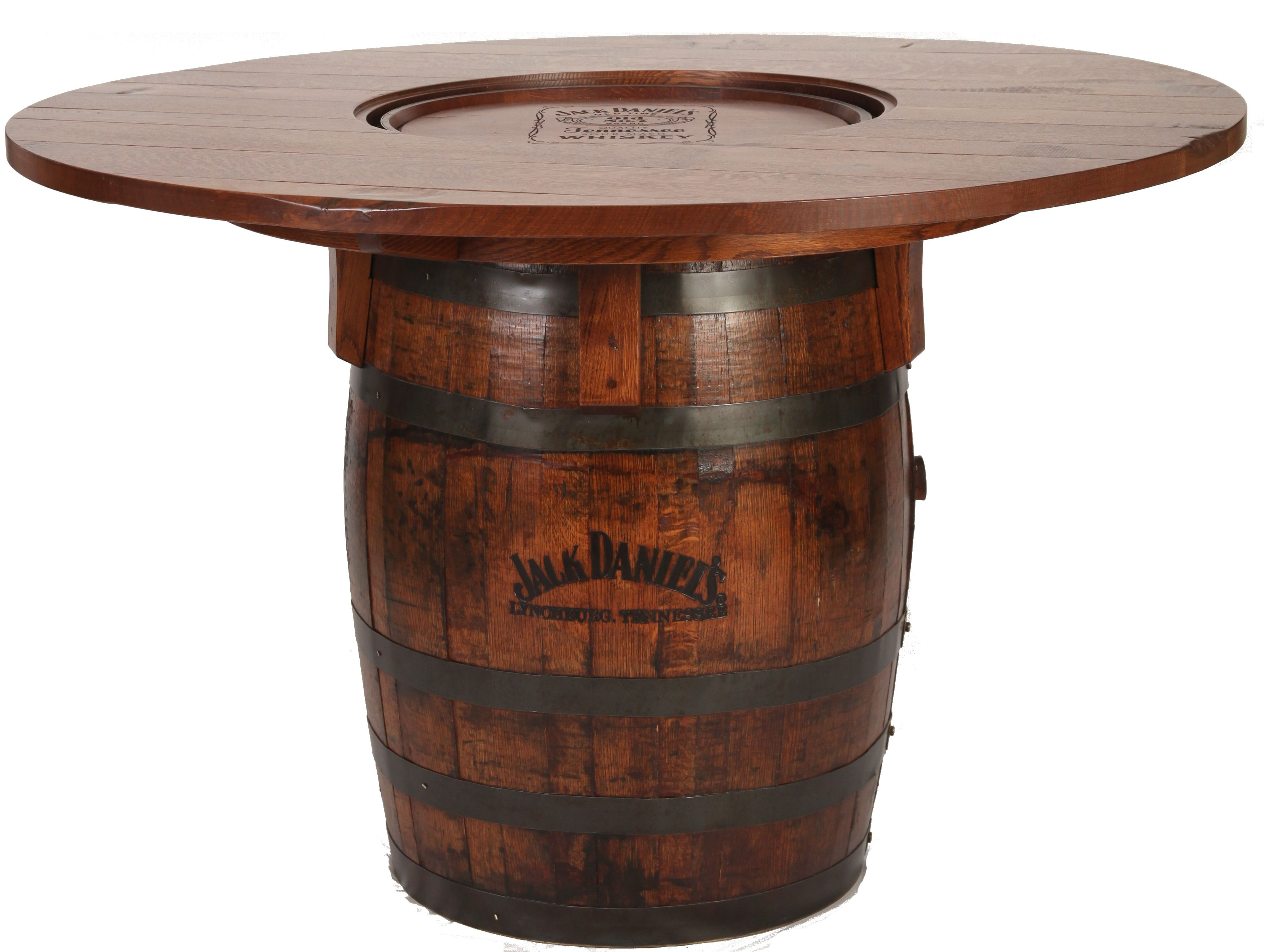 Jack Daniel S Table Jack Daniels Barrel Tablewsky54 In Quarter