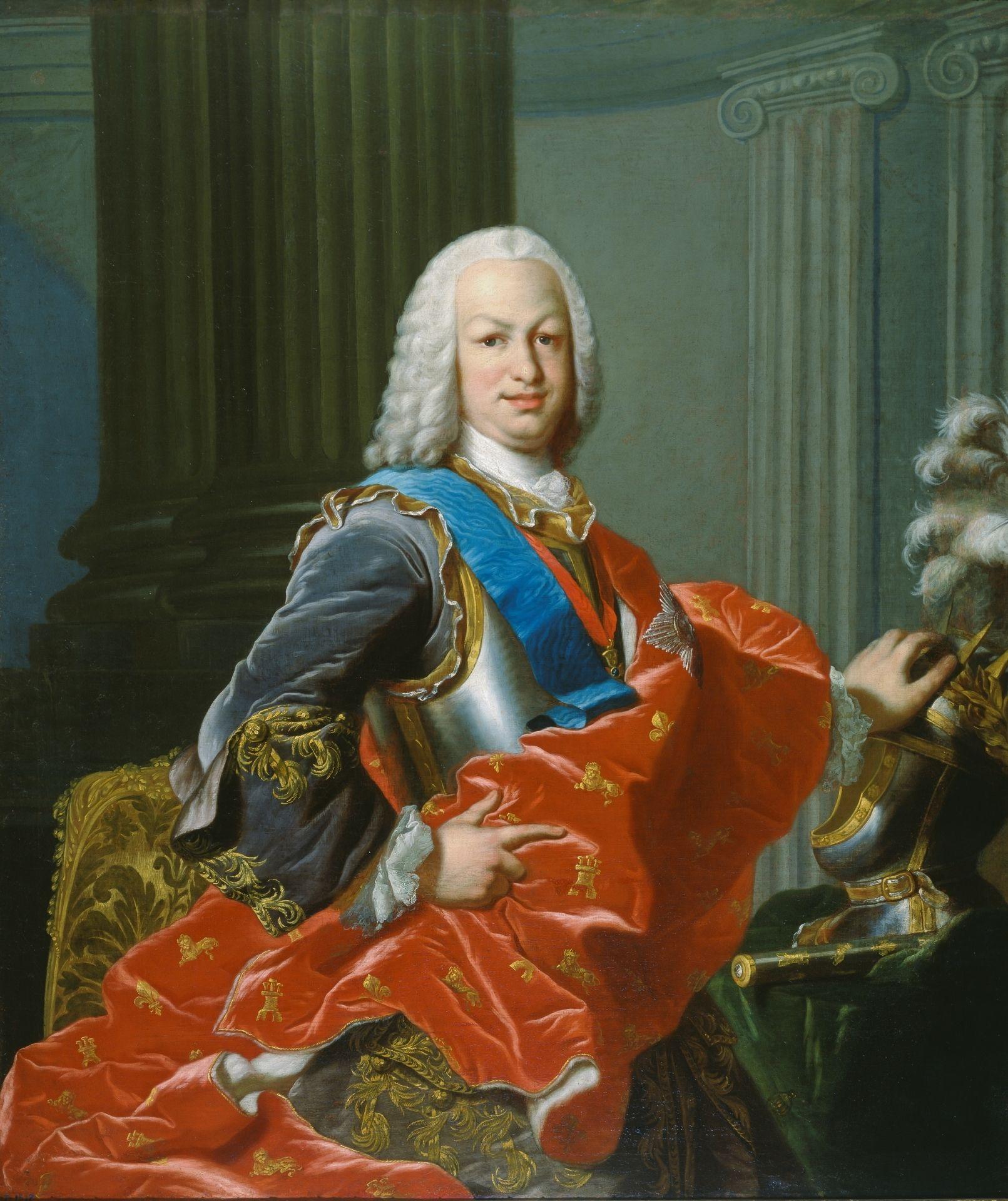 SM el rey ♔ de España Don Fernando VI - casa de Borbón