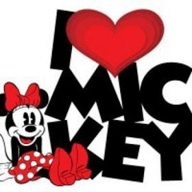 LOVE - MICKEY & MINNIE MOUSE