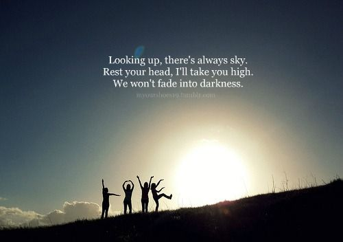 Looking Up There S Always Sky Avicci Favorite Lyrics Looking Up Types Of Music