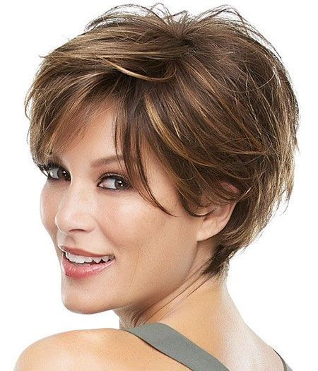 15 Great Short Haircuts For Women With Thin Hair 2019 The Great Short Haircuts Great Hair Hairc Short Hair Styles Short Hair With Layers Thick Hair Styles