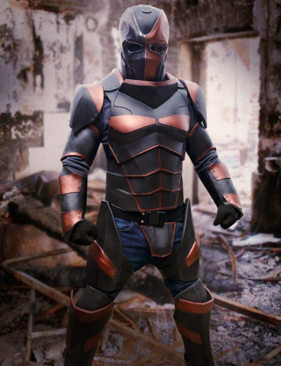 Deathstroke v2 0 cosplay costume foam templates cosplay for Deathstroke armor template