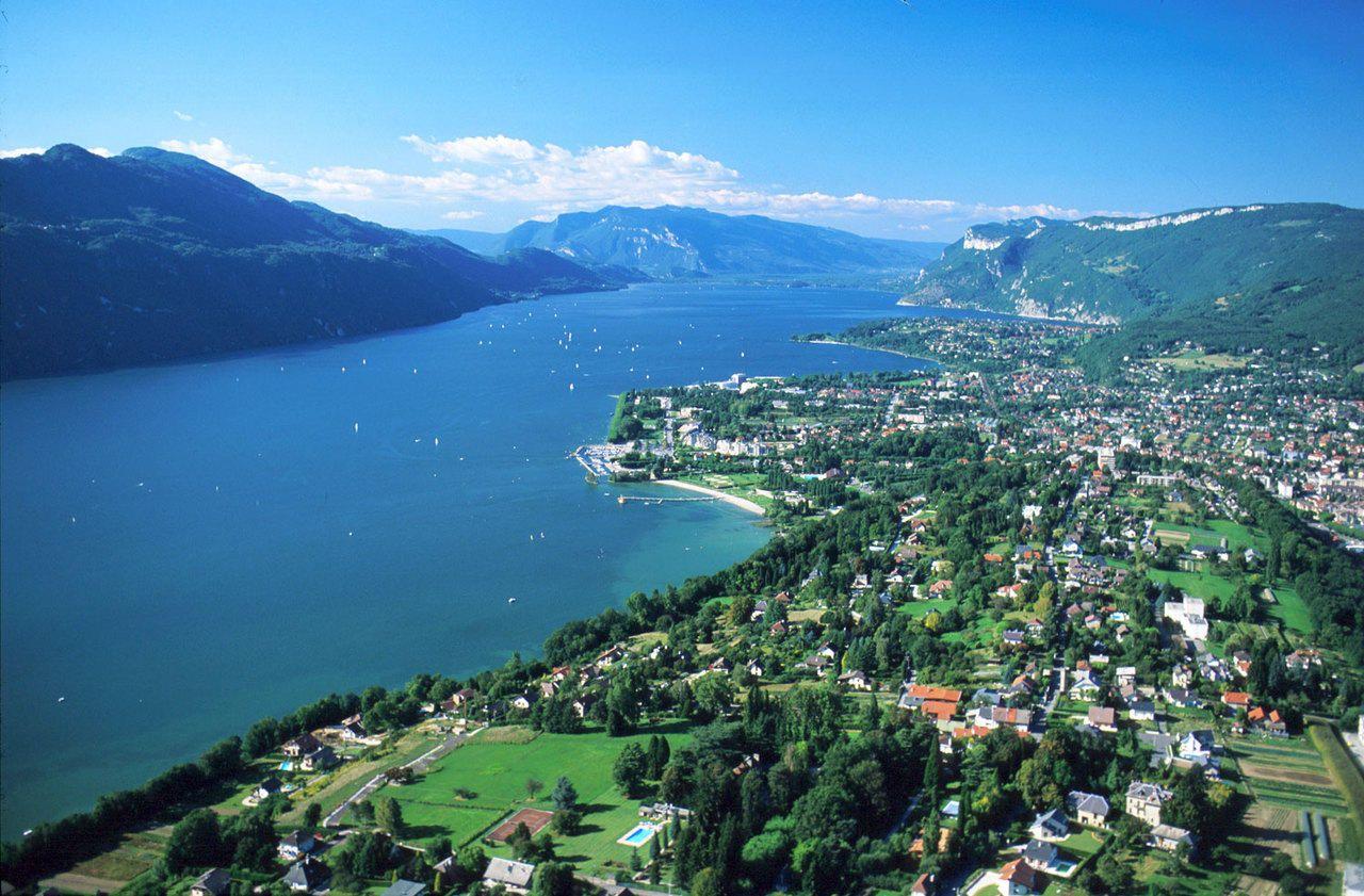 Lac Du Bourget, Near Aix Les Bains, Savoie, Rhone Alpes