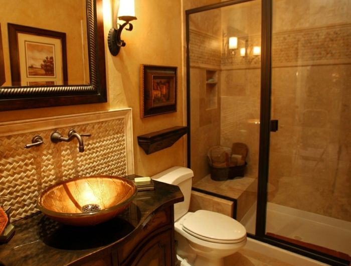 ▷ 1001 + idées déco pour la salle de bain travertin - repeindre du carrelage de salle de bain