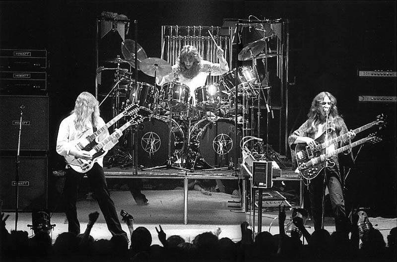 Rush Nashville Municipal Auditorium 3 16 197 Progressive Rock