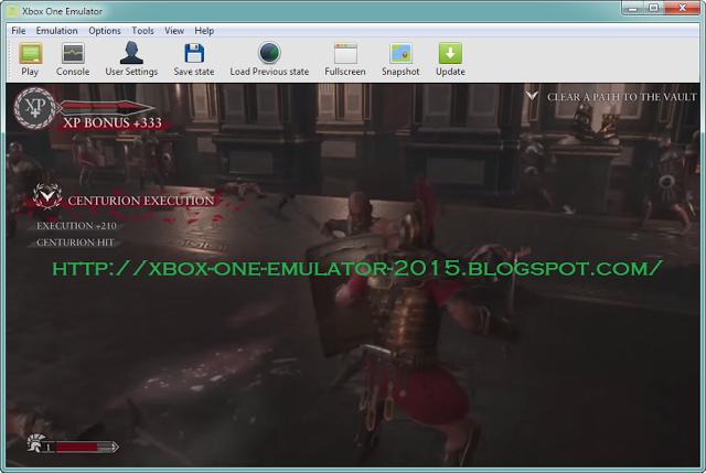 Xbox One Emulator 2015: XBOX ONE EMULATOR 2015 FREE DOWNLOAD