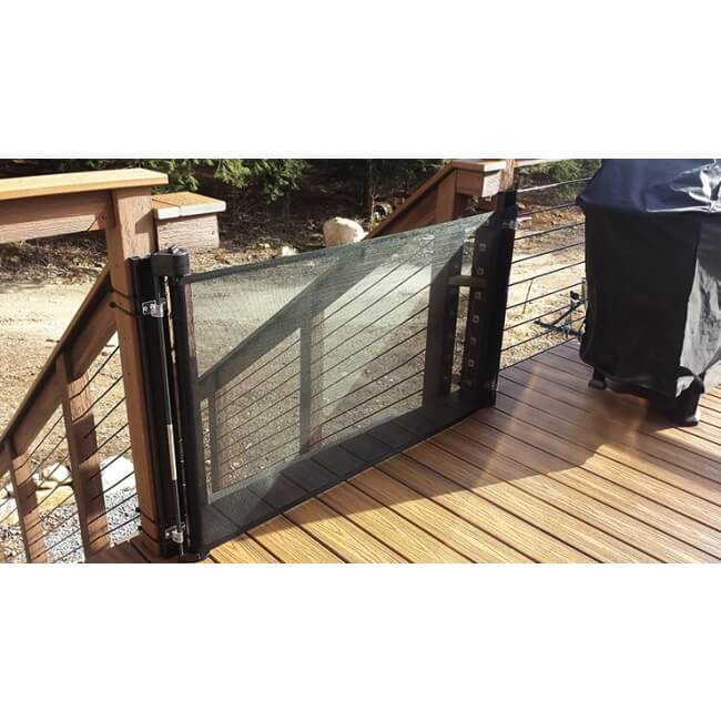Retract A Gate Online Store Shop For Extra Wide Retractable Safety Gates In 2020 Patio Gates Dog Gate Retractable Pet Gate