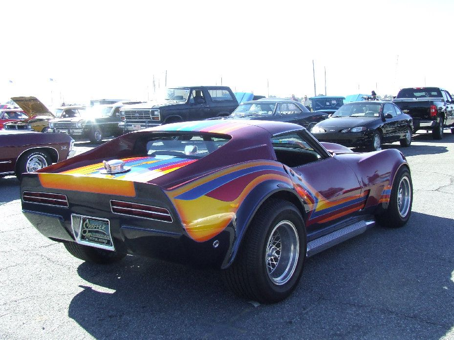 Street Machine Corvette Rear Classic corvette, Corvette