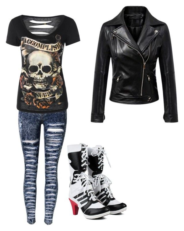 """""""Untitled #127"""" by artemis-nightshade on Polyvore featuring Chicnova Fashion"""