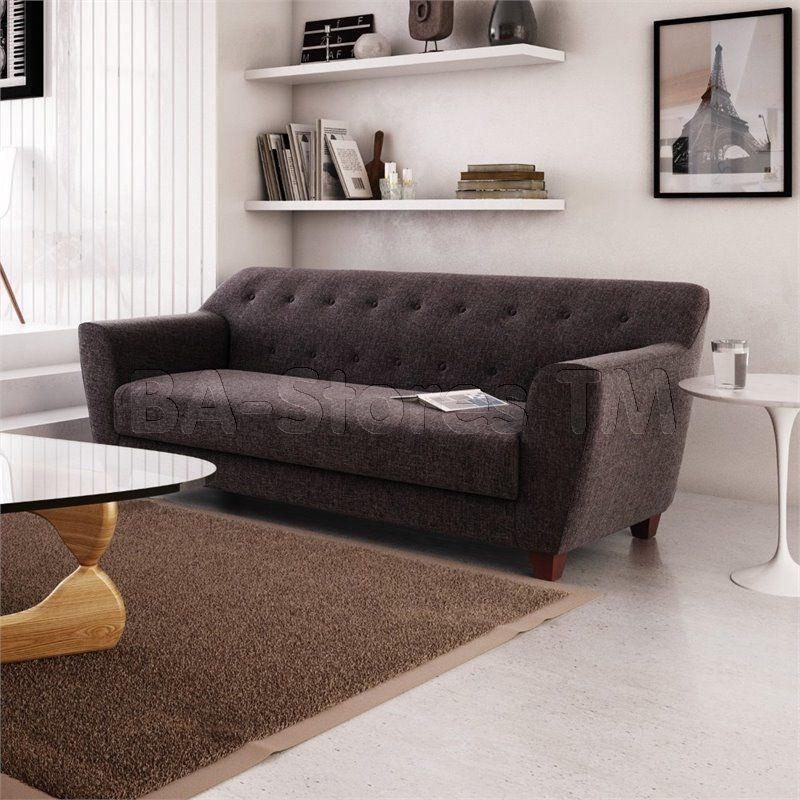 Mindy Sofa In Charcoal By Aeon