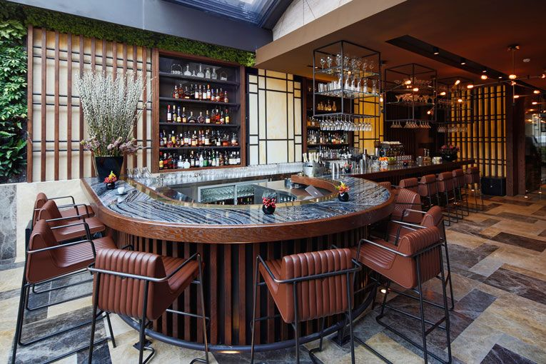 Istanbul Nopa Restaurant Opening Superfuture Cafe Interior Design Bar Restaurant Interior Hotel Interior Design