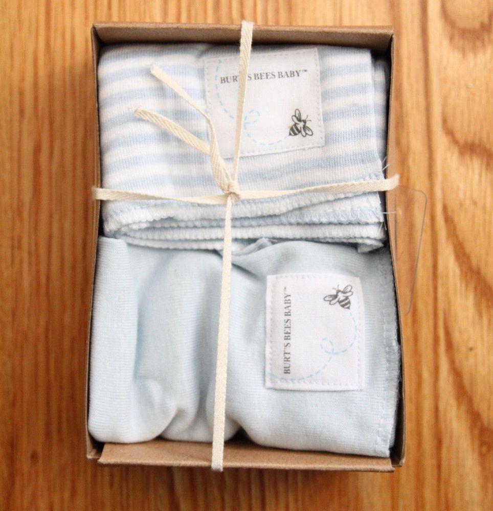burt's bees organic burp cloths