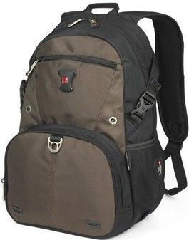 Unisex Swisswin Backpack Hiking Gym Laptop Bag School Travel Camping SW9035