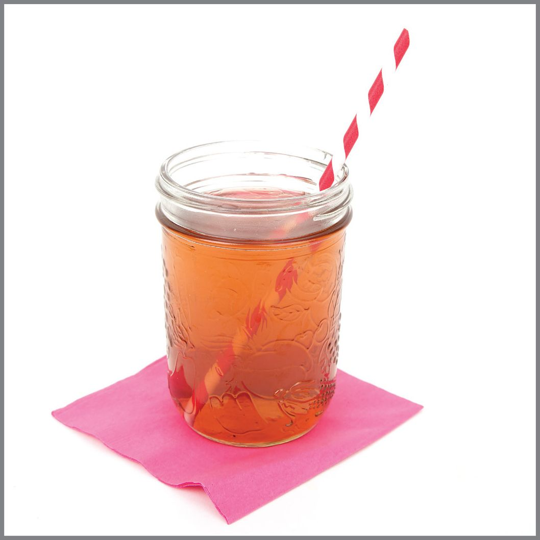 Ice Berry Green Tea Visual Recipe With Comprehension