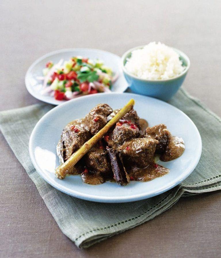 Indonesian Beef Rendang Recipe Beef Rendang Recipe Indonesian