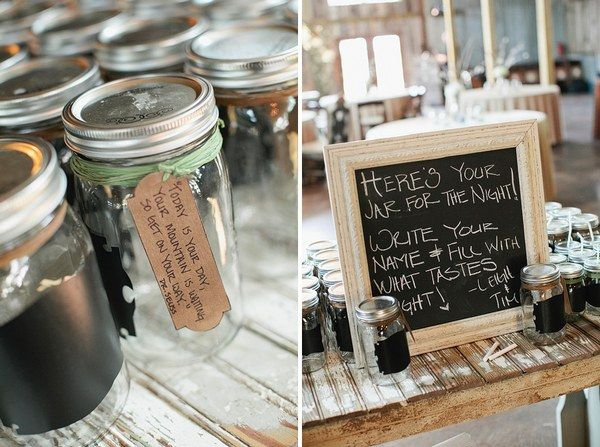 Real Weddings Leigh Timothy S Texas Ranch Wedding Mason Jar