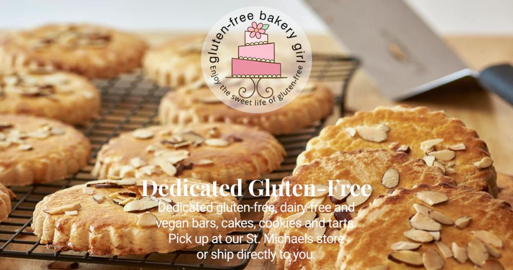 GlutenFree Bakery Girl Gluten free bakery, Gluten free