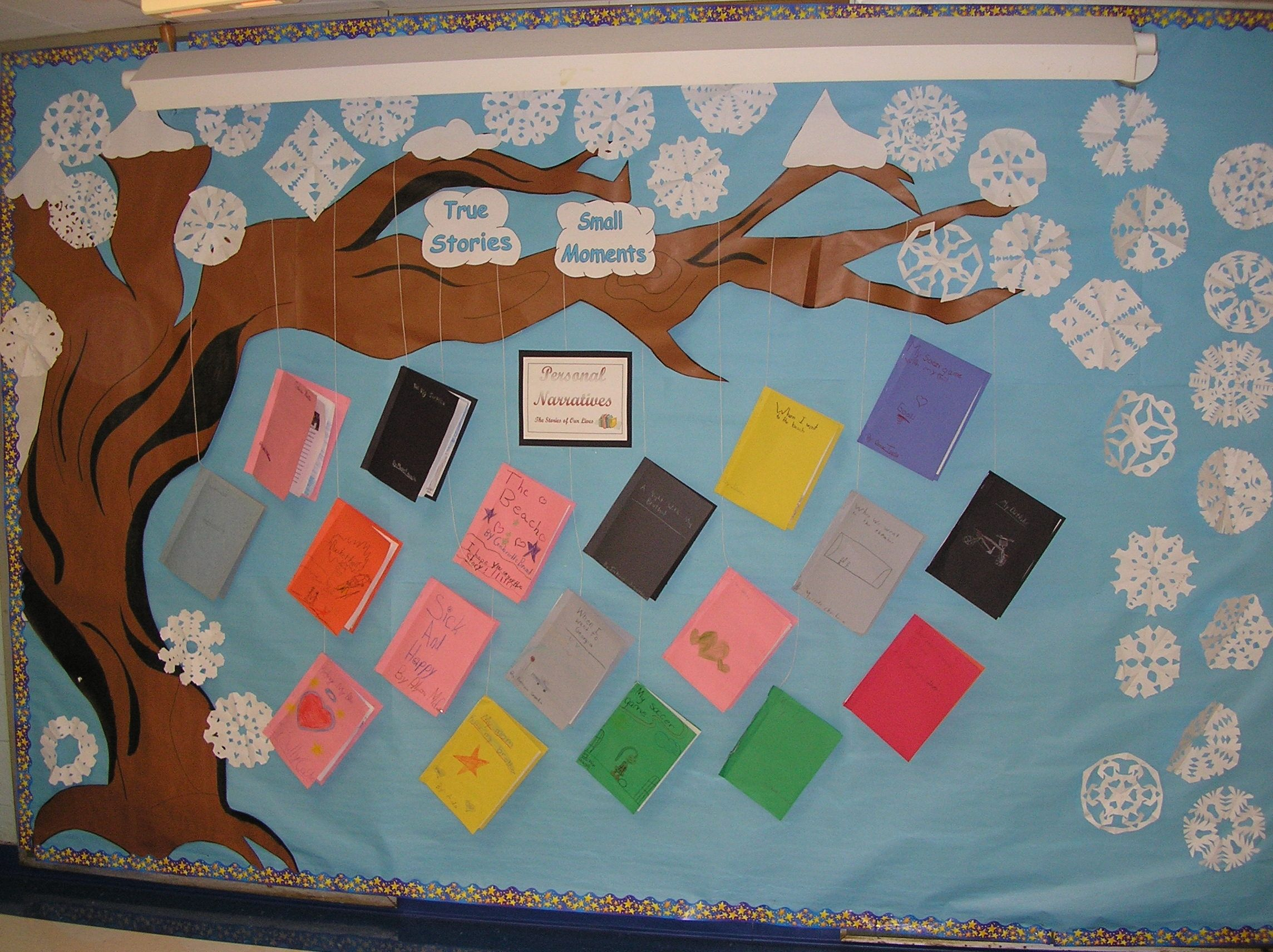 Personal Narrative Tree Bulletin Board