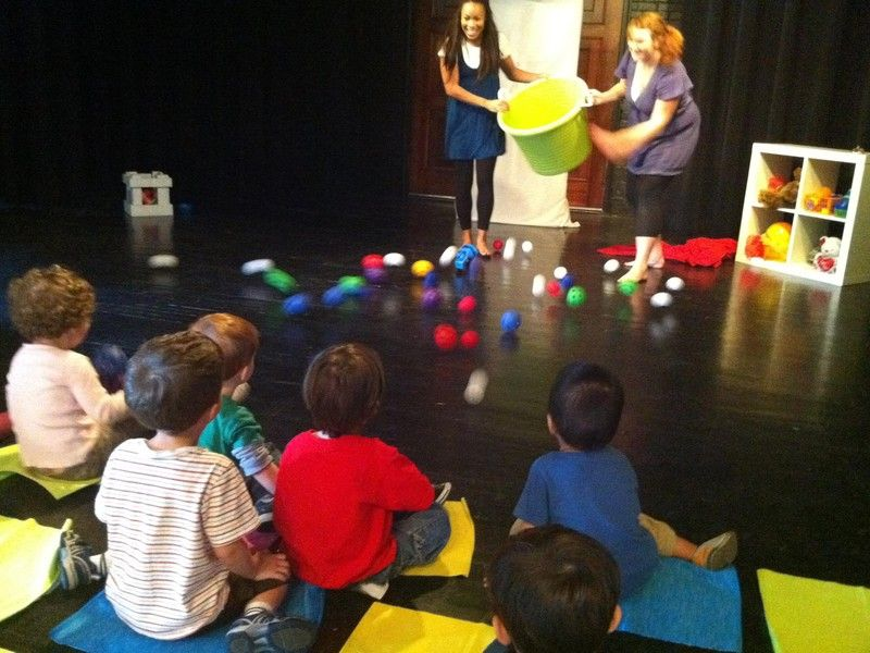Can't sit still: Spark! Theatre creates interactive perfomances for the under five set