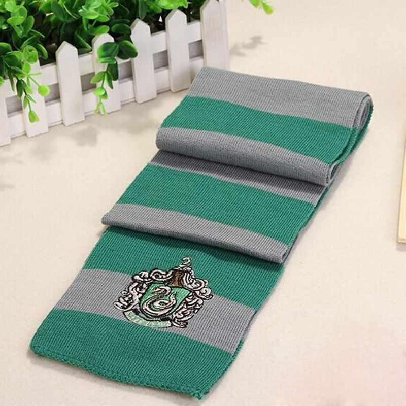 Photo of Harry Potter Gryffindor Hufflepuff Slytherin Knitted Scarf CP167865