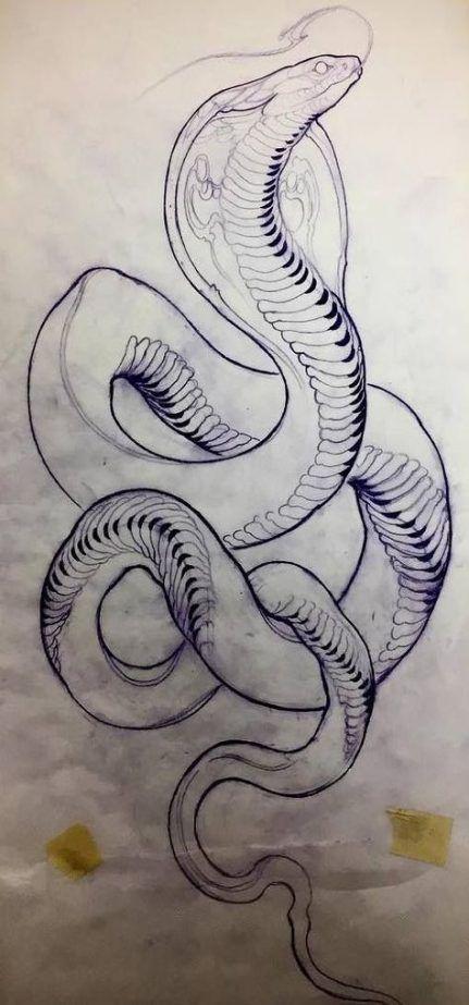 59+ Best Ideas Tattoo Snake Cobra Art
