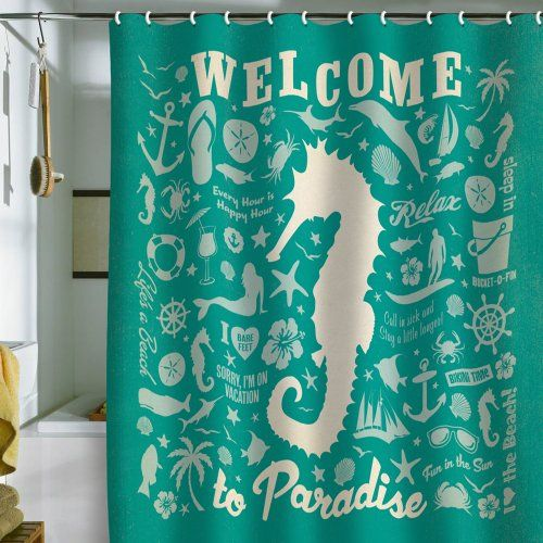 Seahorse Shower Curtains Patterned Shower Curtain Woven Rug