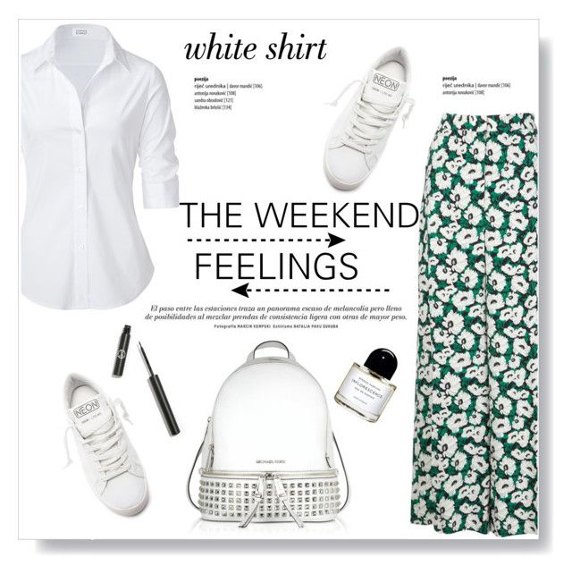 """""""The Weekend Feelings"""" by viola279 ❤ liked on Polyvore featuring STELLA McCARTNEY, Steffen Schraut, Golden Goose, Michael Kors, Byredo and Sigma Beauty"""